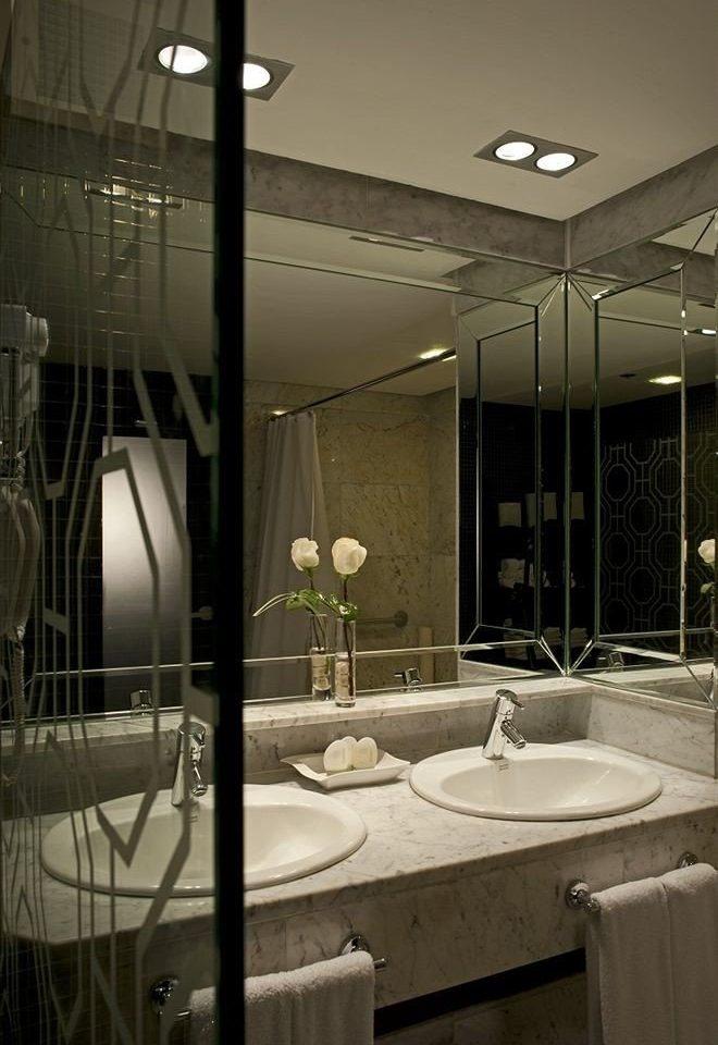 bathroom sink lighting home tile