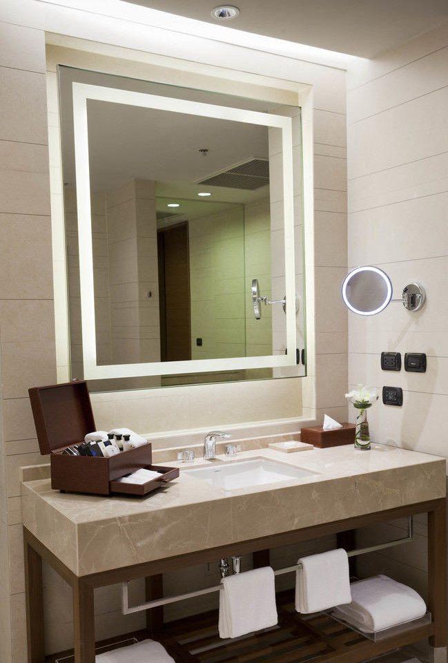 bathroom mirror sink property plumbing fixture home living room