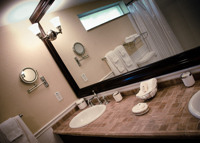bathroom sink toilet lighting plumbing fixture