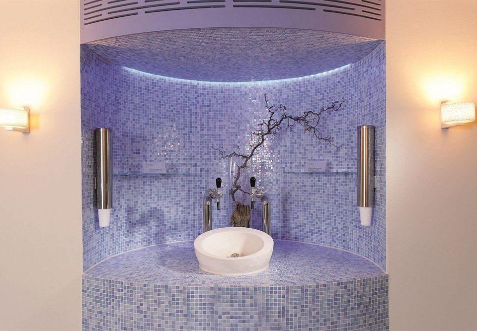 bathroom lighting plumbing fixture swimming pool tile tiled