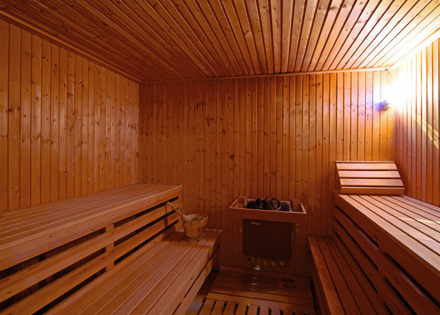wooden man made object bathroom sauna