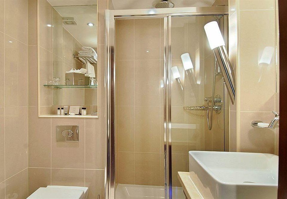 bathroom property scene sink plumbing fixture