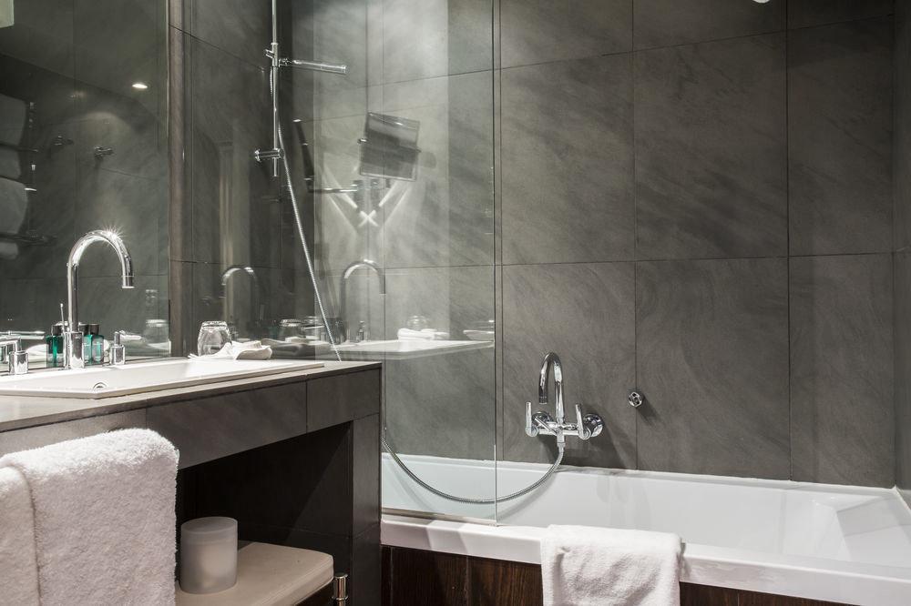 bathroom sink plumbing fixture toilet tile