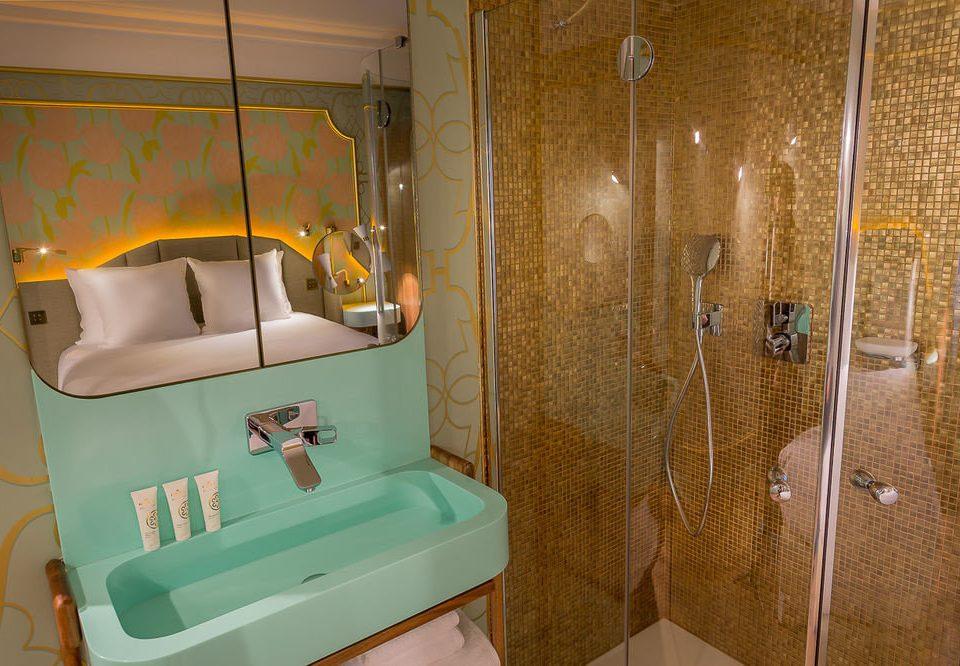 bathroom plumbing fixture swimming pool tiled