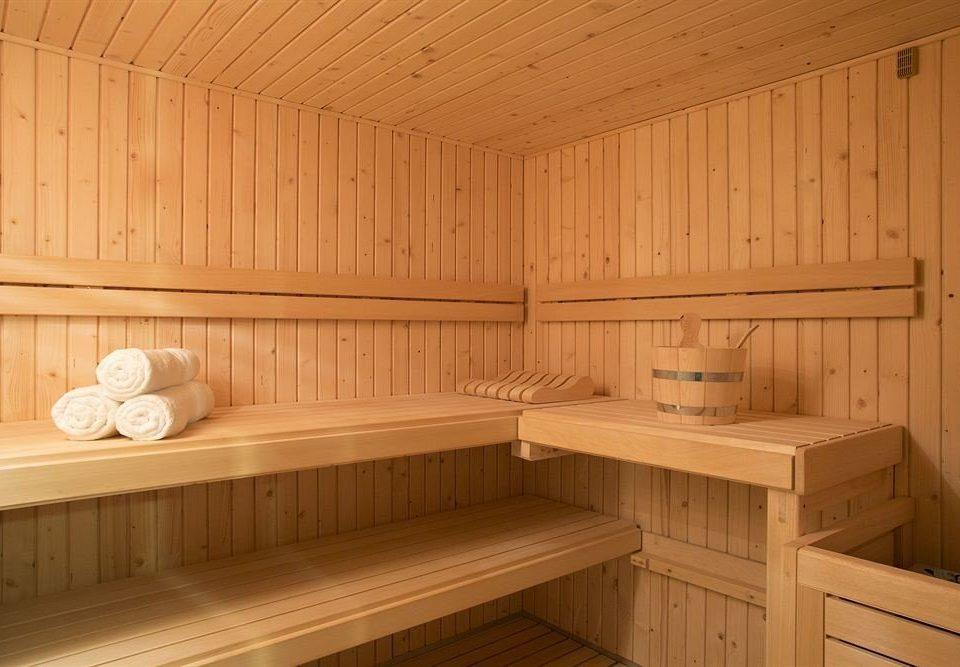 wooden sauna bathroom