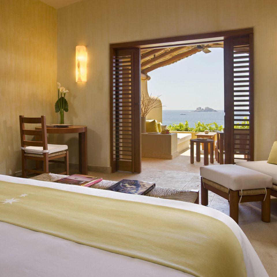 Beach Beachfront Honeymoon Hotels Island Mexico Romance Suite Tulum Bedroom property Villa Resort living room home condominium cottage nice
