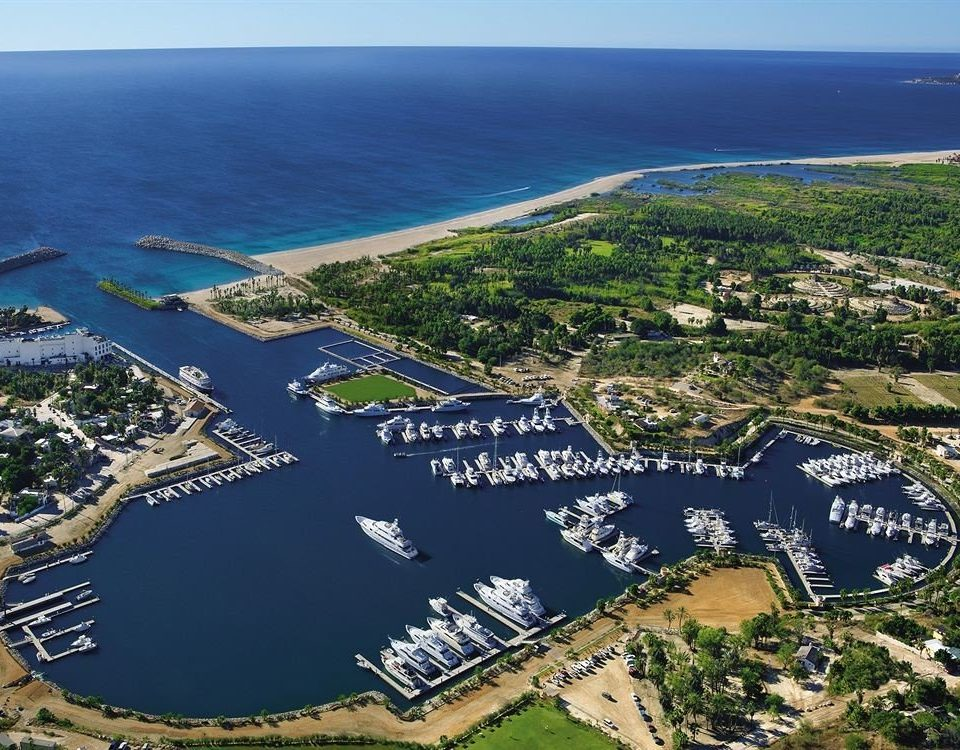 Beach Beachfront Boat Ocean aerial photography bird's eye view Nature marina Coast dock Sea residential area cape port estuary reservoir cove peninsula promontory shore