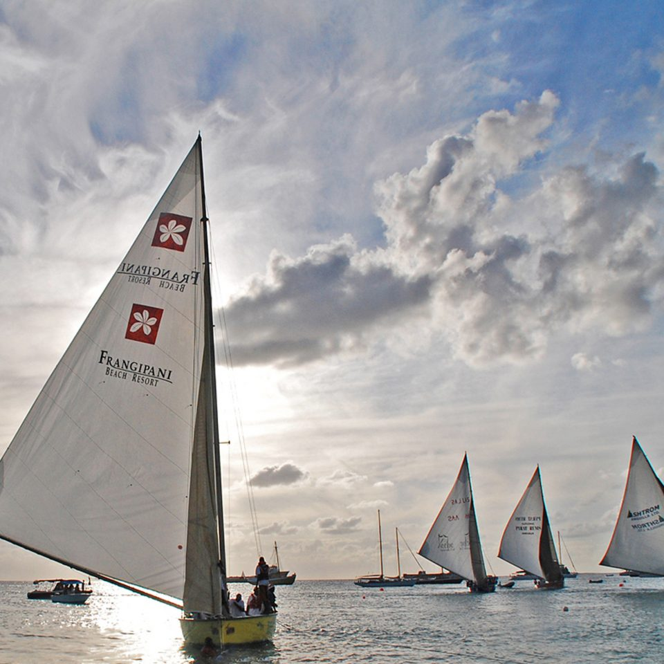 Beach Beachfront Boat Ocean transport watercraft sky sail sailing sailing vessel dinghy sailing sailboat vehicle sports sailboat racing windsports Sea sailing ship keelboat yacht racing wind dinghy mast skiff day