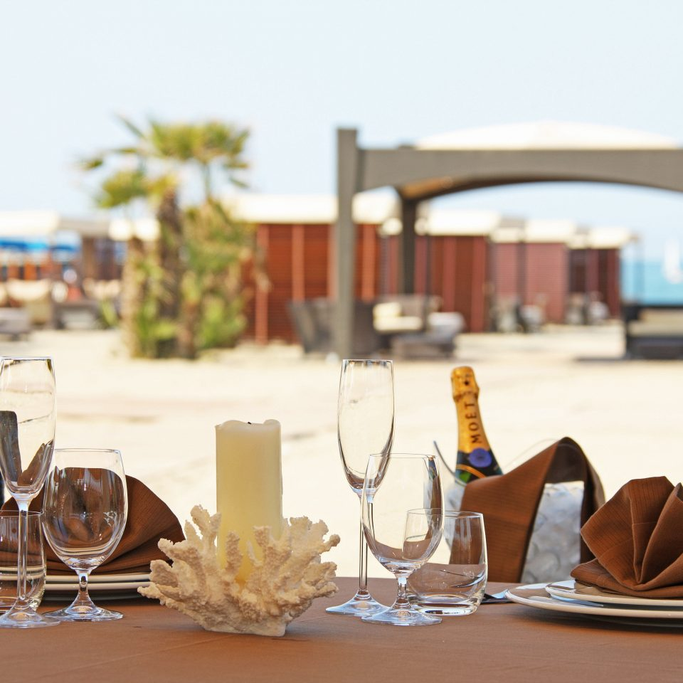 Beach Beachfront Boutique Classic Dining Drink Eat restaurant home set dining table