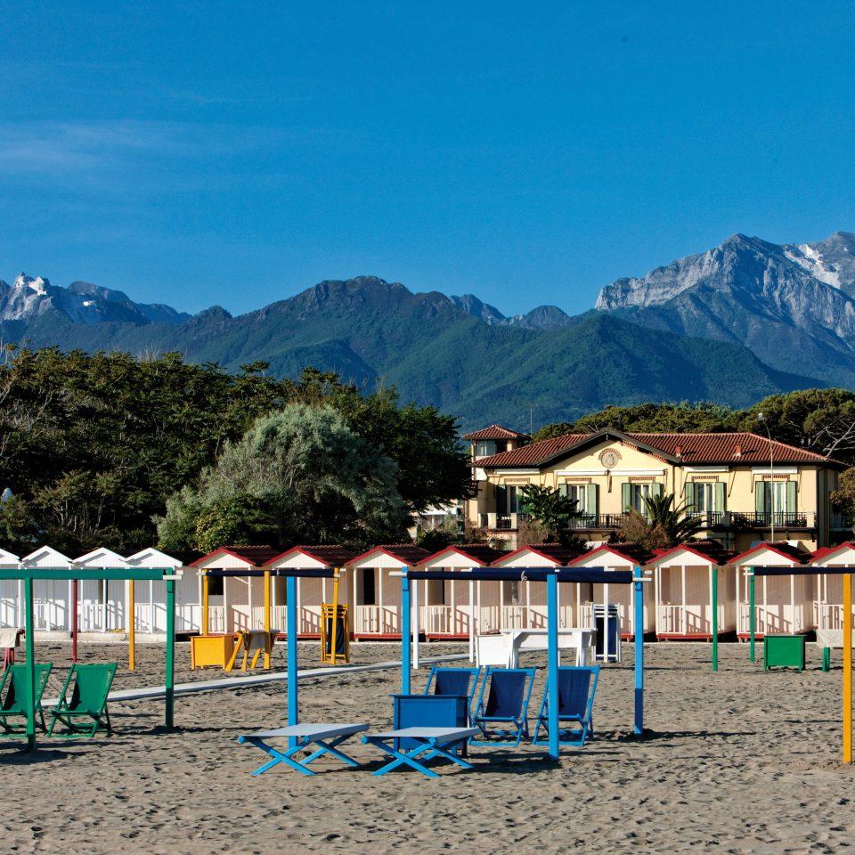 Beach Beachfront Boutique Elegant Mountains Romantic mountain ground mountain range Sea lined