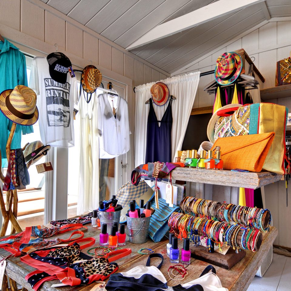 Beach Beachfront Hip Shop Waterfront clothing Boutique retail shopping cluttered