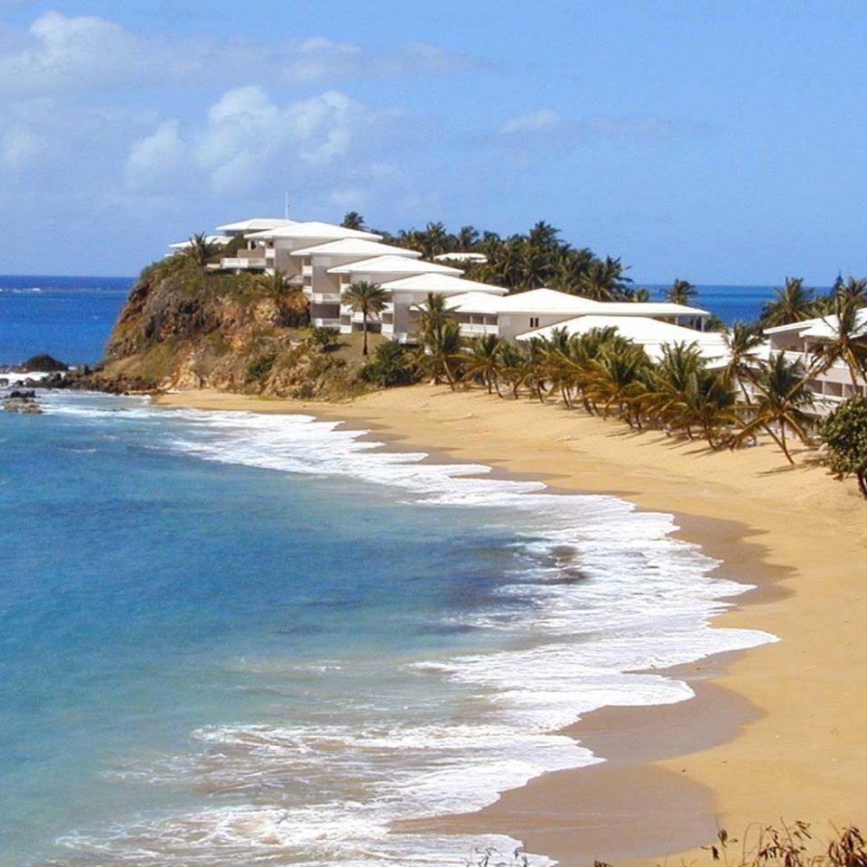Beachfront Exterior Honeymoon Island Romance Romantic Tropical sky water Nature Beach shore Coast Sea Ocean cape caribbean sand cove wind wave islet sandy day