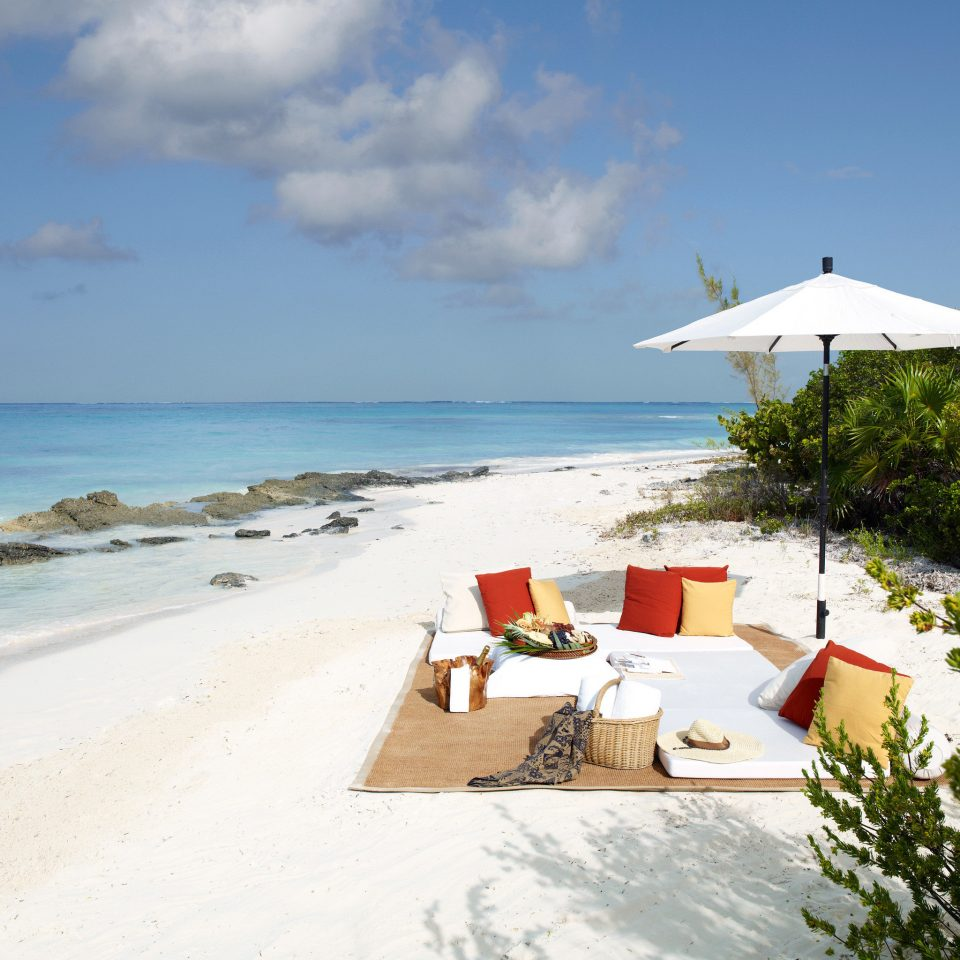 Beach Beachfront Grounds Luxury Play Resort sky Nature Sea shore Ocean Coast caribbean cape Island sand sandy