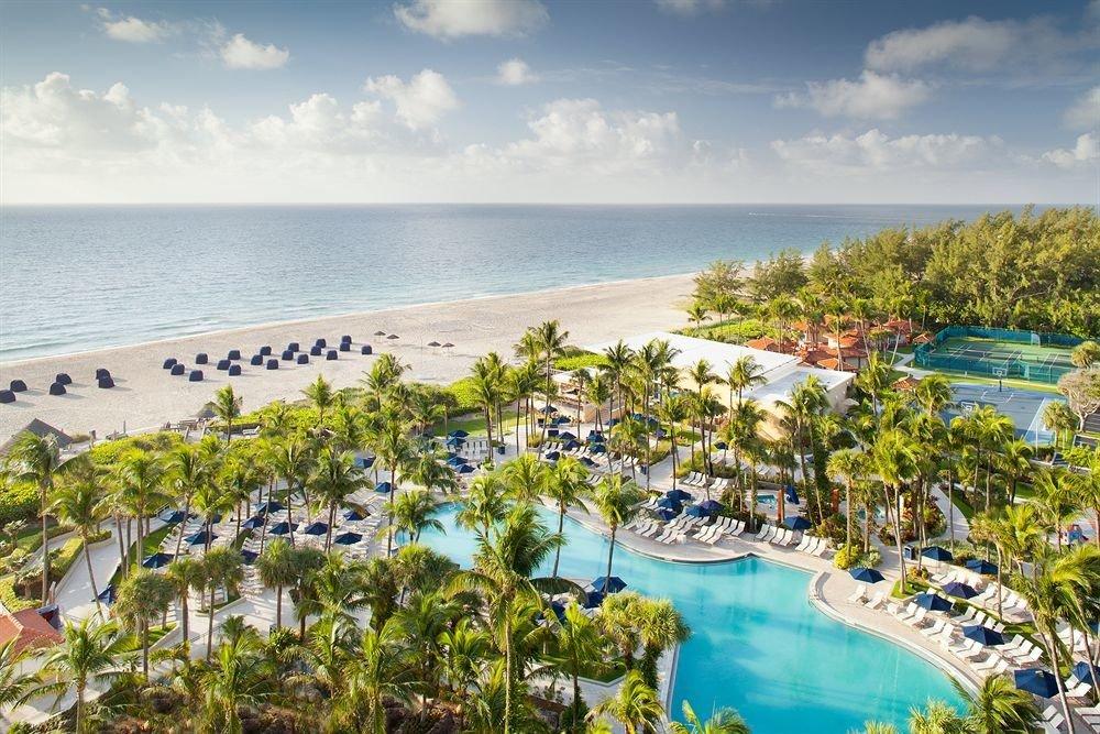 Beachfront Grounds Pool Resort water sky Nature Beach caribbean Sea shore Coast Ocean Lagoon cove overlooking