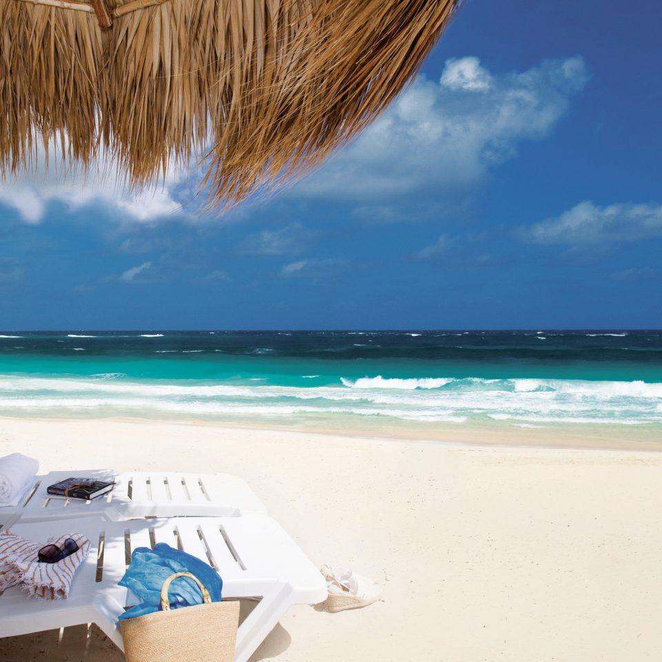 Beach Beachfront Hotels Lounge Ocean Style + Design Trip Ideas sky water shore Sea caribbean Coast sand Nature wind wave cape Lagoon Island wave sandy