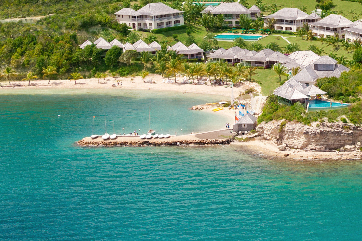 Beachfront Hotels Resort Scenic views Trip Ideas water Nature Sea caribbean swimming pool Beach islet Lagoon Coast Island cape cove Water park swimming shore
