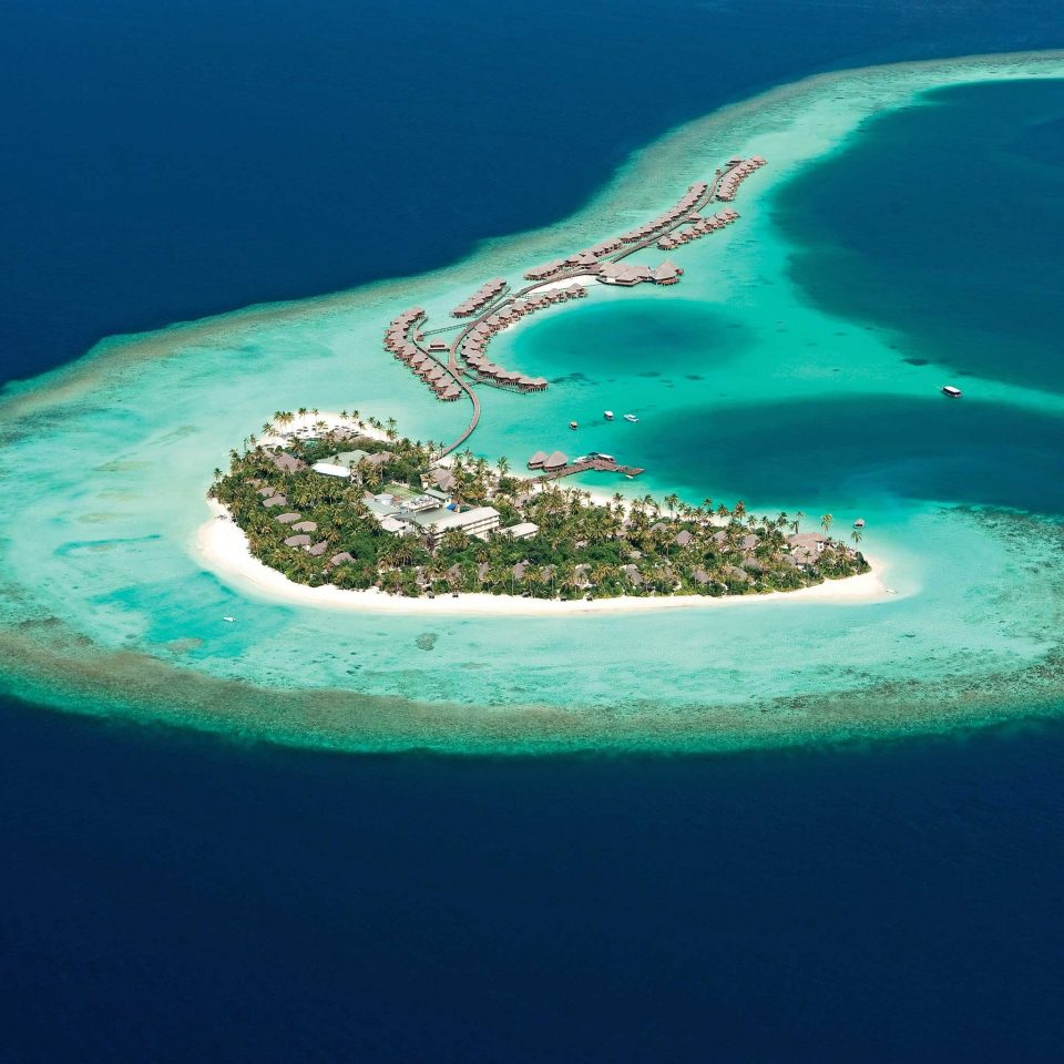 Beach Beachfront Ocean Nature reef water archipelago Sea atoll Island Coast islet Lagoon shore