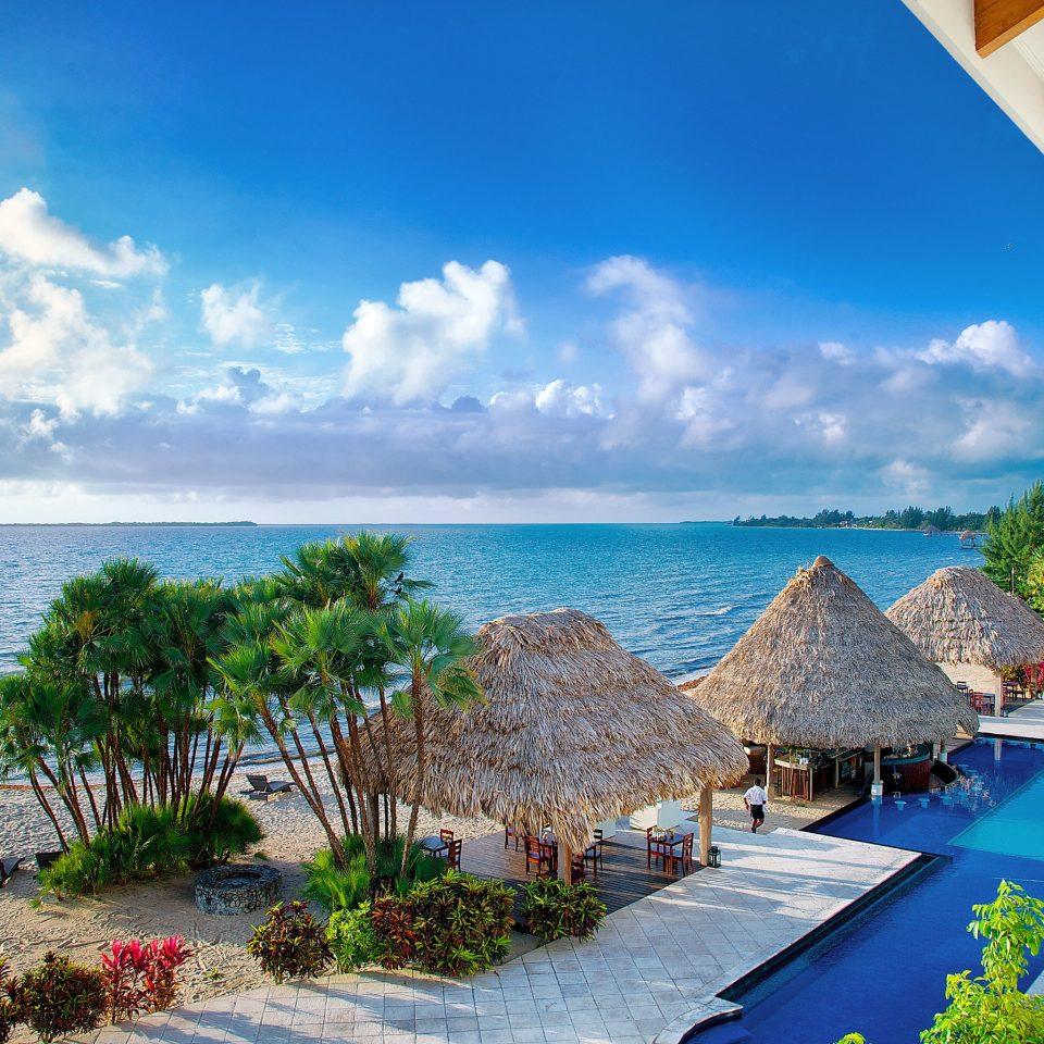 Beach Beachfront Play Pool Resort Scenic views sky water caribbean Ocean Sea Coast arecales swimming pool Island Lagoon tropics