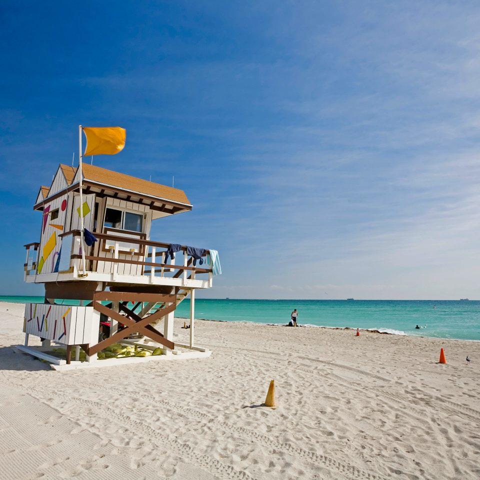 Beach Beachfront Play Resort Scenic views sky Nature Sea shore Ocean Coast sand caribbean cape walkway pier Island sandy day