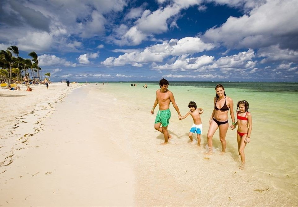 Beach Beachfront Lounge Luxury Ocean Romantic sky water shore Nature Sea sand Coast caribbean cape wave sandy day