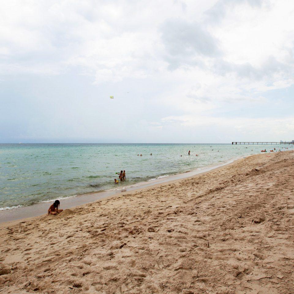 Beach Beachfront sky ground Nature shore Sea Coast Ocean horizon sand wave cape terrain walkway sandy
