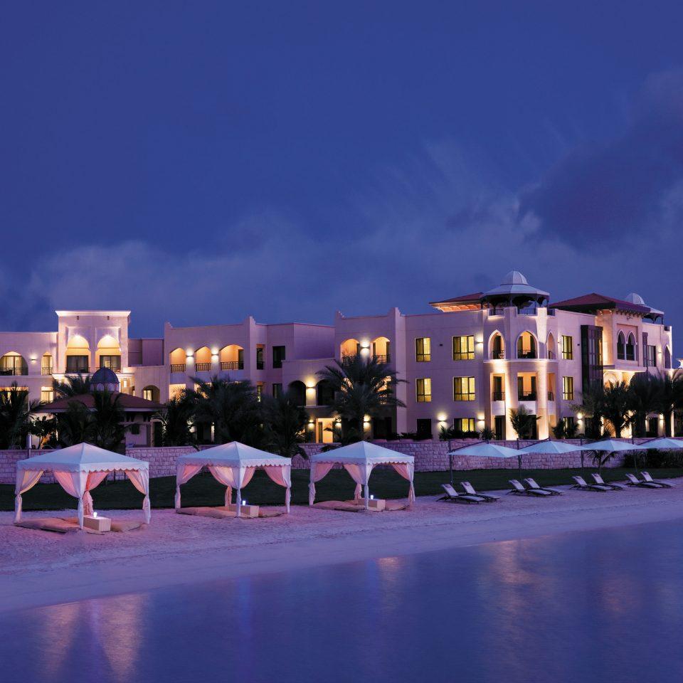 Beach Beachfront Exterior Ocean sky night landmark evening dusk Resort cityscape Downtown skyline marina Sunset
