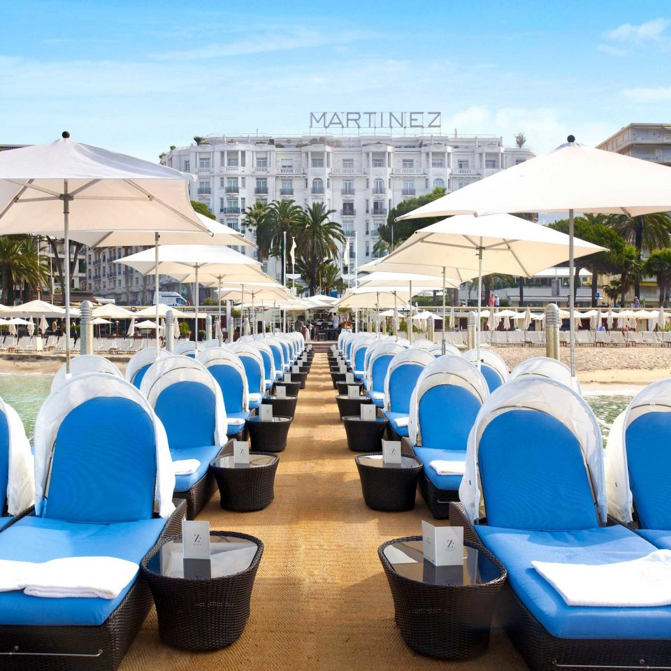 Beach Beachfront Elegant Luxury Modern Waterfront sky leisure Resort swimming pool blue convention center stadium
