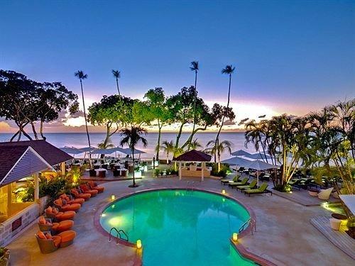 Beach Beachfront Exterior Lounge Pool sky swimming pool Resort leisure property caribbean resort town Villa Water park Lagoon colorful