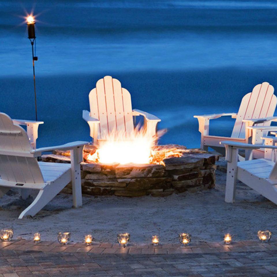 Beach Beachfront Firepit Lounge Outdoor Activities blue water light Sea lighting sunlight