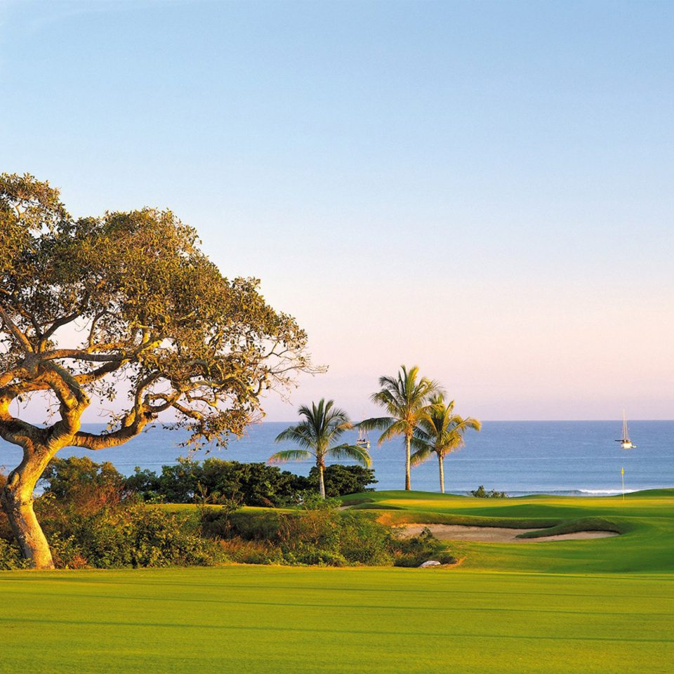 Beach Beachfront Fitness Golf Sport Wellness sky grass tree structure grassland horizon sport venue golf course plant sports golf club outdoor recreation field recreation plain savanna meadow lush