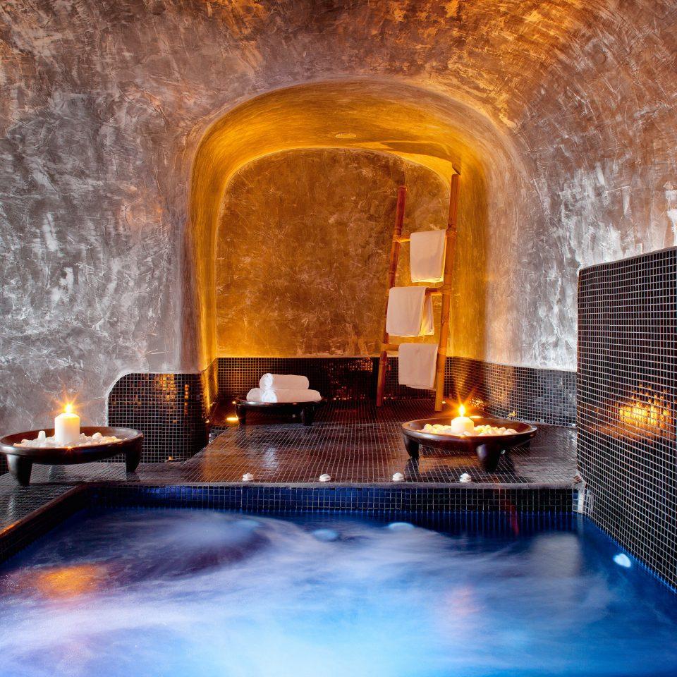 Beach Beachfront Greece Hotels Lounge Luxury Modern Ocean Pool Santorini stone thermae swimming pool cooking