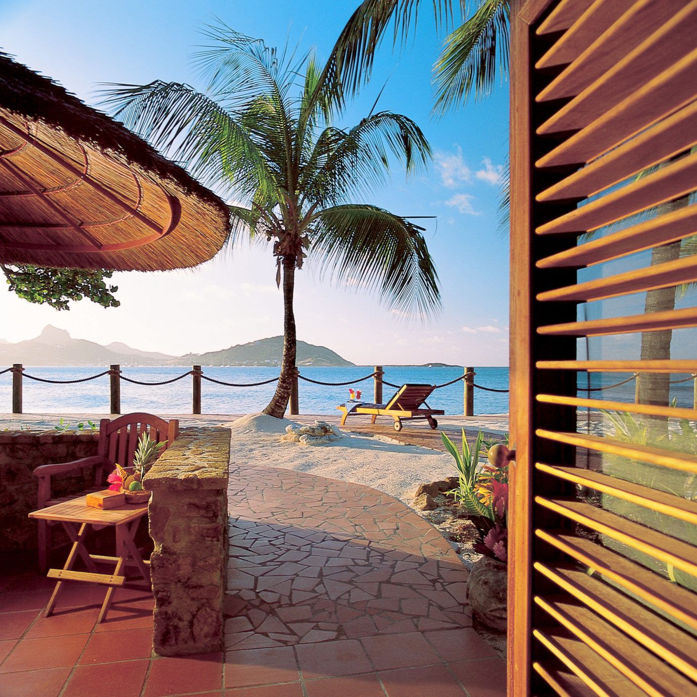 Beach Beachfront Grounds Patio Resort leisure property caribbean arecales swimming pool walkway