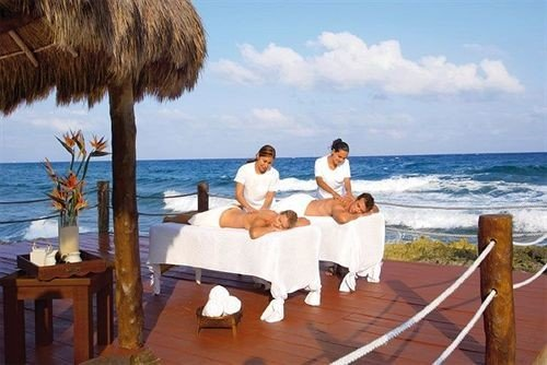 Beachfront Luxury Romantic Spa sky water leisure caribbean Resort Beach Sea Honeymoon