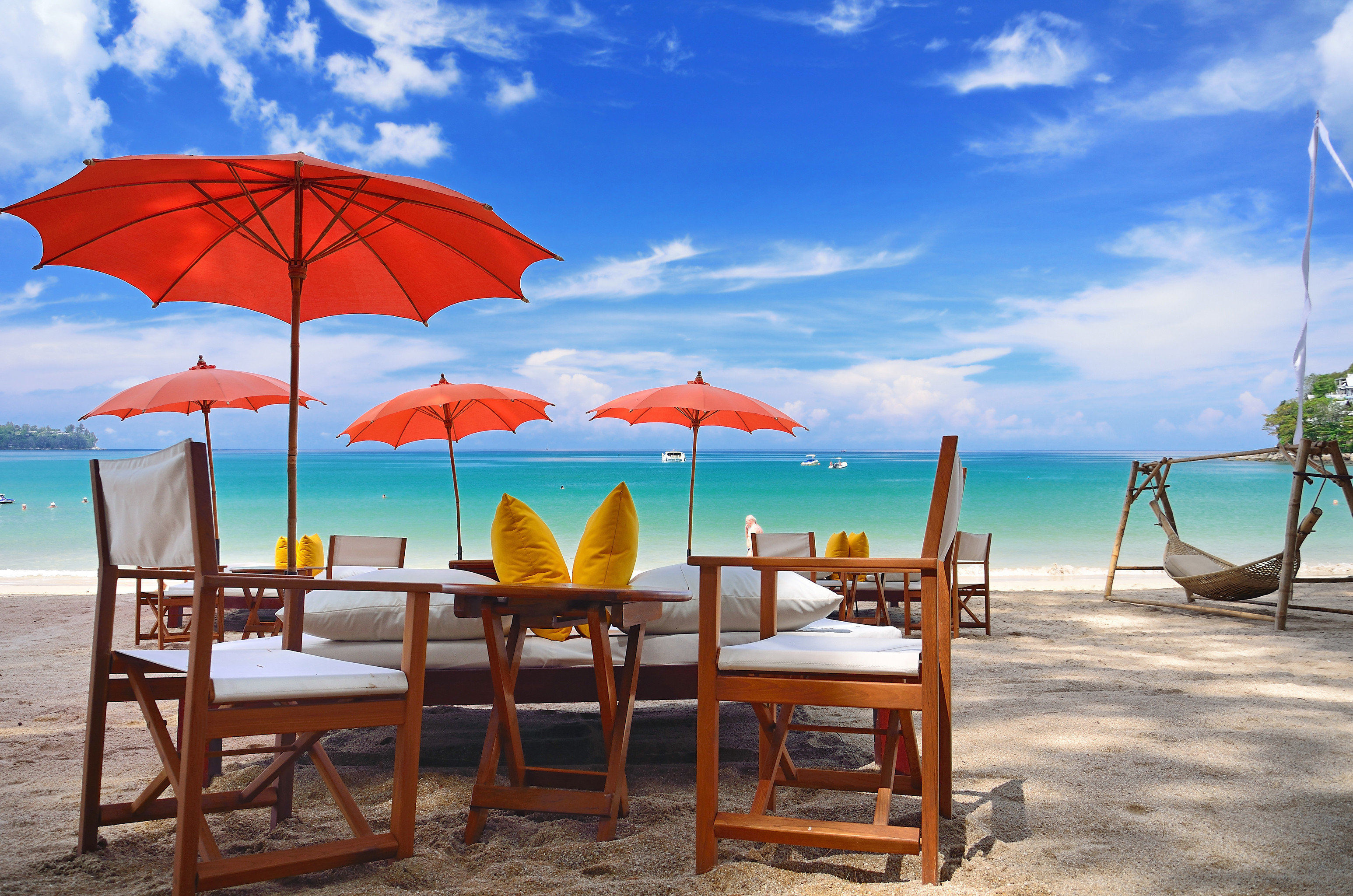 Beach Beachfront Hotels Lounge Ocean Outdoors Romance Tropical accessory sky umbrella chair leisure Nature rain caribbean Sea Resort shore day