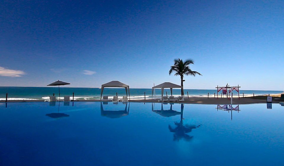 Beachfront Pool Resort sky water horizon Sea Ocean marina dock dusk Lake Beach Lagoon blue shore swimming Island day