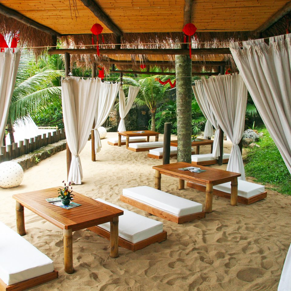 Beach Beachfront Lounge Resort curtain chair property Villa backyard cottage outdoor structure hacienda