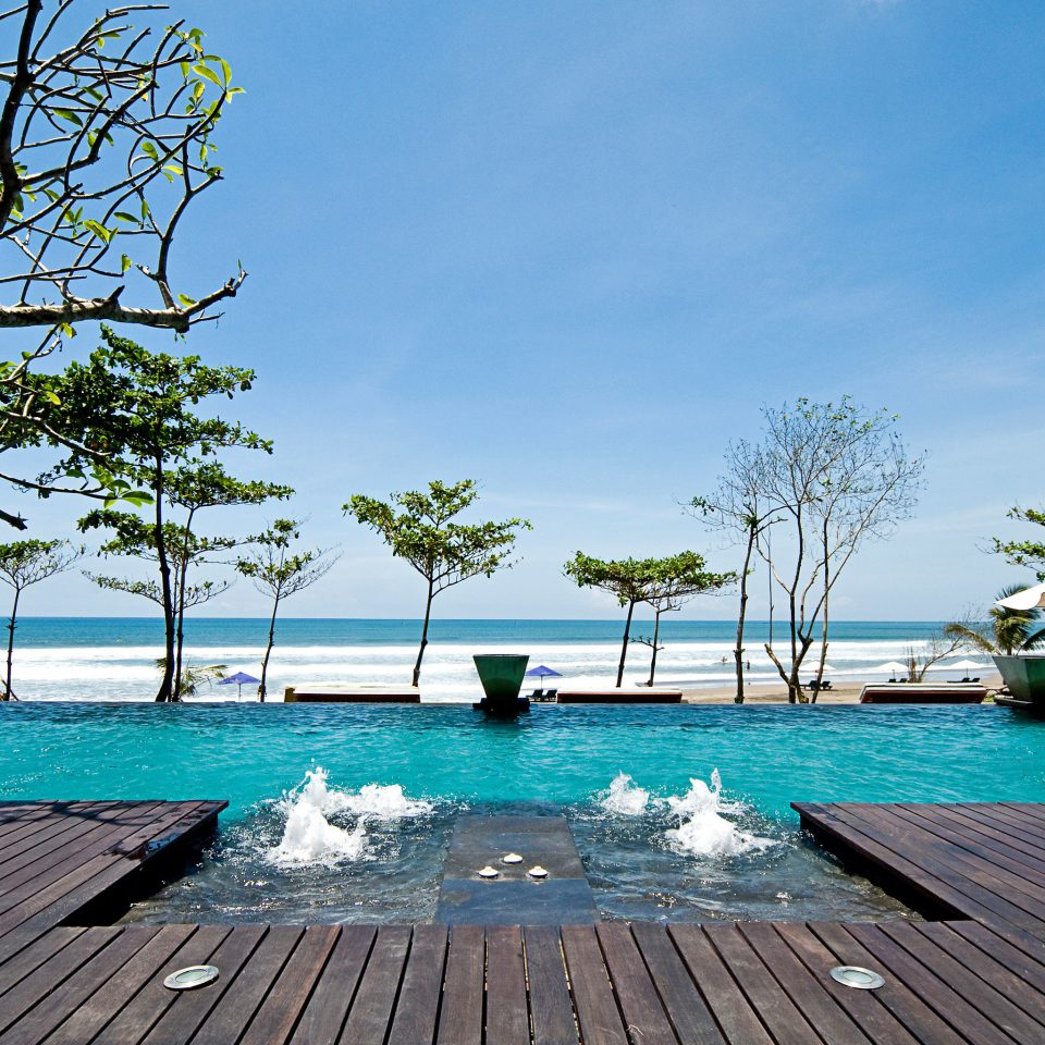 Beachfront Luxury Pool sky water swimming pool leisure property Resort Sea Beach walkway swimming lined day