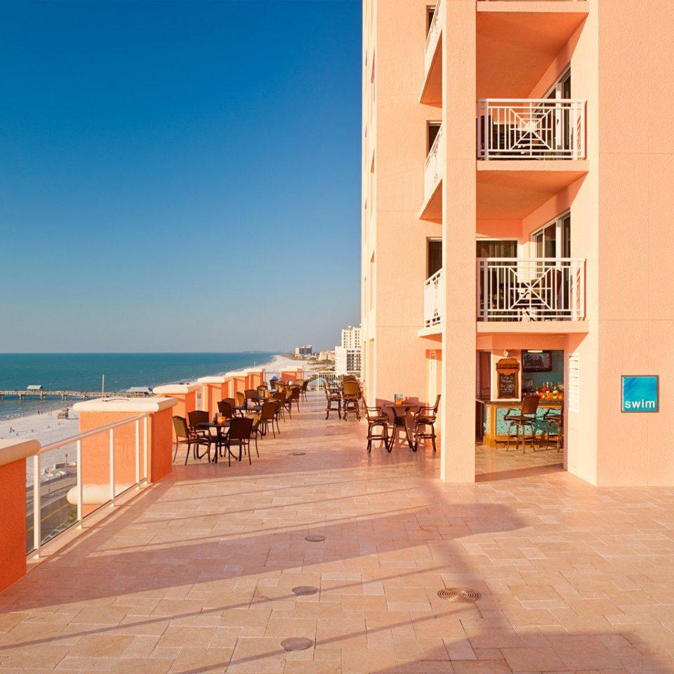 Beach Beachfront Ocean ground property building Resort condominium Villa Sea