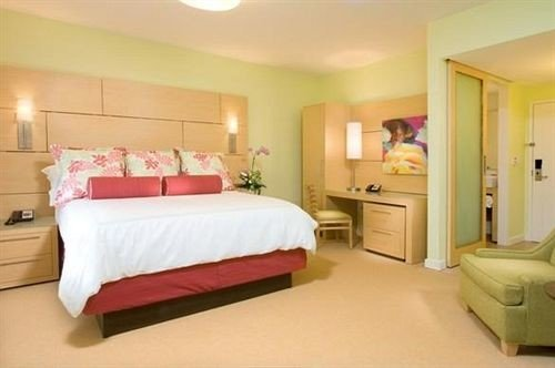 Beach Bedroom Boutique Budget Modern property Suite red cottage