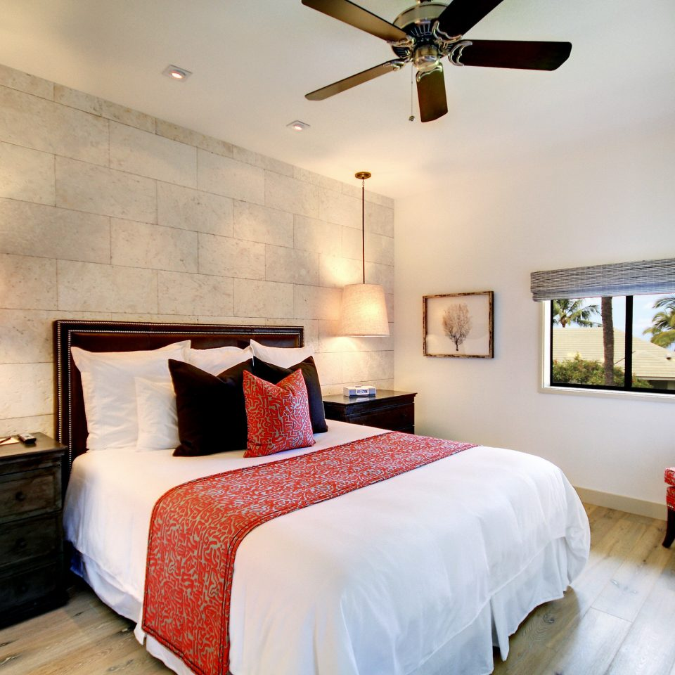 Beach Bedroom Boutique Hotels Classic Hotels Island Luxury Travel Romance Scenic views Suite property building red cottage home farmhouse Villa