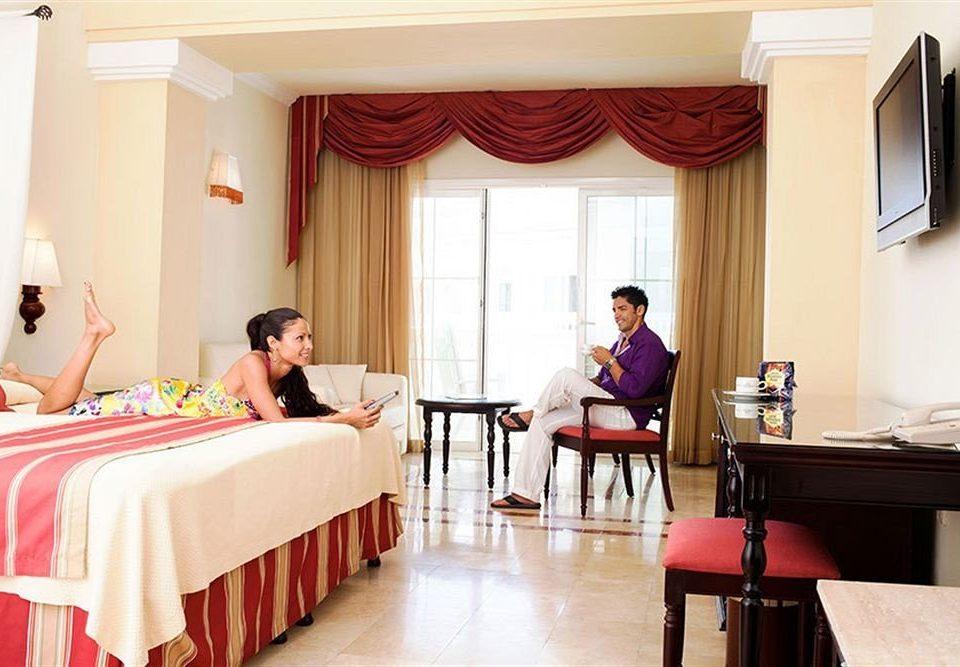 Beach Bedroom Budget Family Resort Sea red Suite