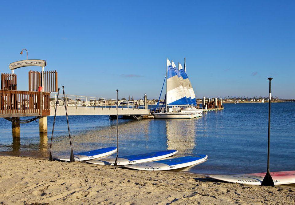 sky water Boat Sea scene Beach vehicle Ocean shore Coast pier dock Harbor marina sand day distance sandy