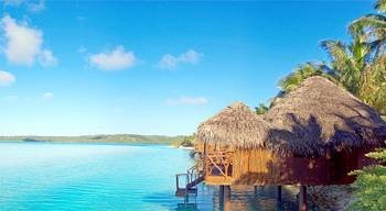 water Boat caribbean Nature Beach Resort Coast Island Sea Lagoon islet shore
