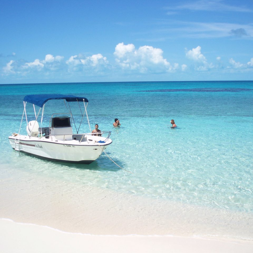 water sky Boat Sea Ocean Nature Beach caribbean shore vehicle Island Lagoon Coast cape blue day