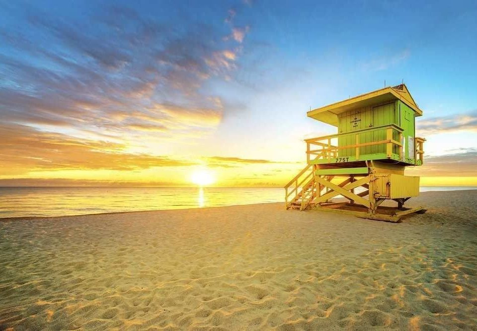 water sky Beach shore Boat Sea horizon Ocean Coast morning sand sunlight sunrise Sunset cape