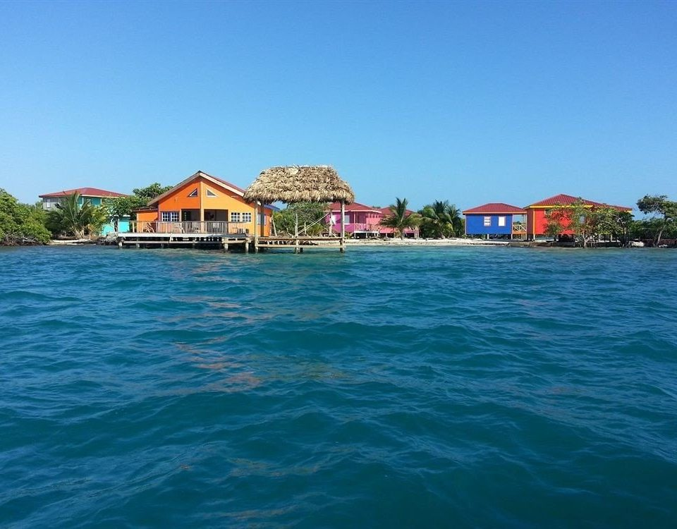 water sky house Boat Sea Resort caribbean Beach Island swimming pool resort town Lagoon shore