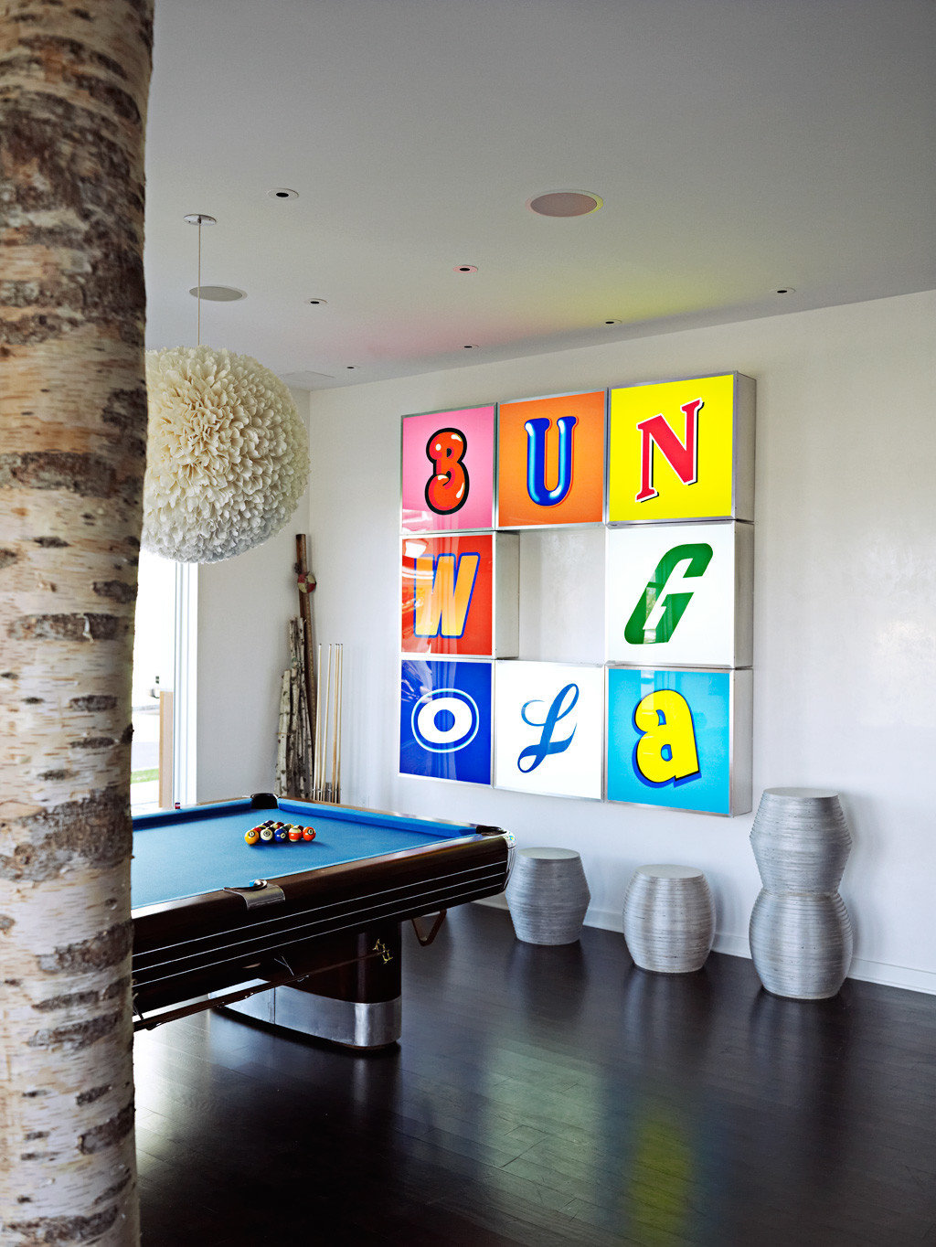 Beach Boutique Hip Party Play color living room home modern art