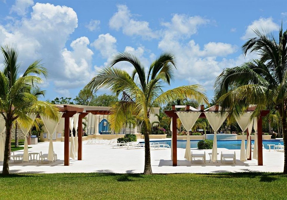 Boutique Modern Waterfront tree sky grass palm leisure Resort plant Beach arecales palm family caribbean swimming pool tropics shade