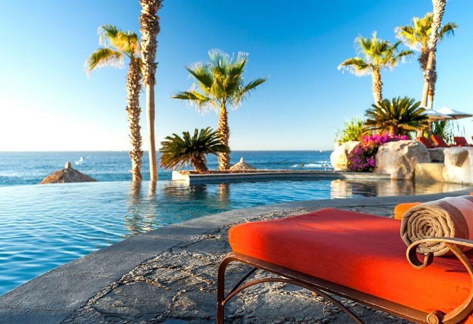 Budget Pool Resort Scenic views Tropical Waterfront sky water Beach leisure caribbean Sea Ocean swimming pool Coast palm shore