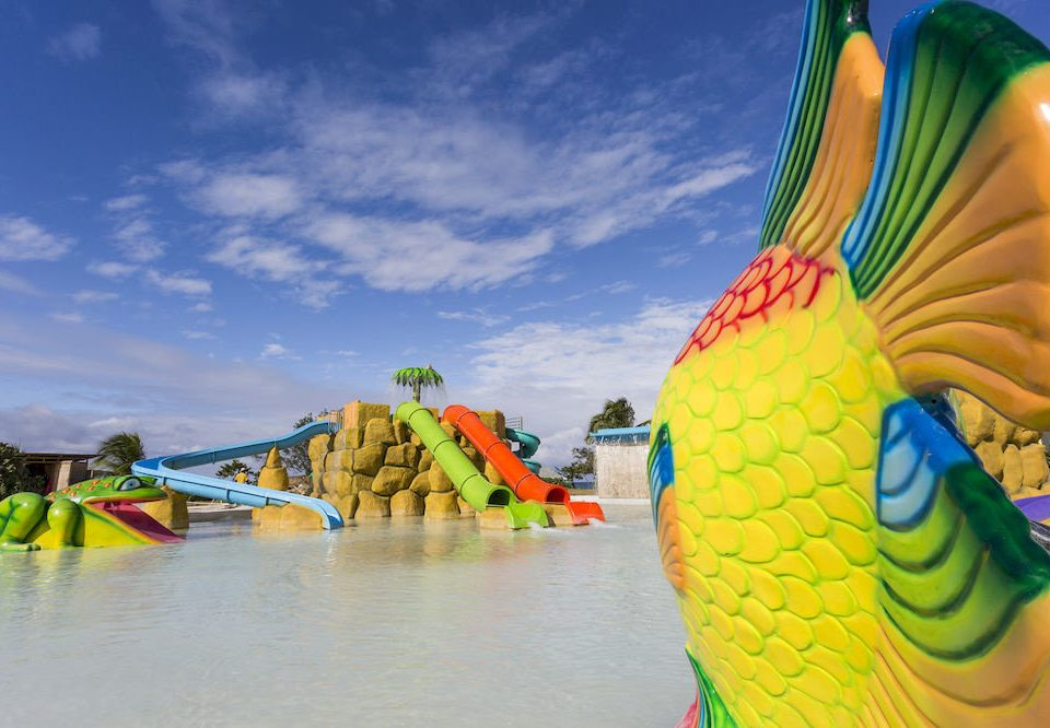 Beach Budget Family Pool Resort Sea color colorful yellow vehicle amusement park atmosphere of earth toy Water park colored park boating